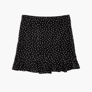NWOT Madewell silk skirt in star scatter